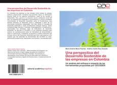 Portada del libro de Una perspectiva del Desarrollo Sostenible de las empresas en Colombia