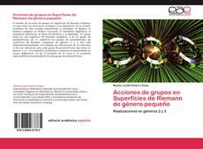 Borítókép a  Acciones de grupos en Superficies de Riemann de género pequeño - hoz