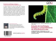Portada del libro de Estudio de morfología, biología y comportamiento de Acordulecera spp.