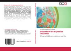 Capa do livro de Desarrollo de espacios insulares