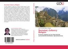 Bookcover of Sociedad, Cultura y Religión