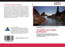Portada del libro de La gestión de riesgos geológicos