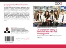 La Expresión Oral y la Reflexión Matemática Investigativa的封面
