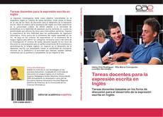 Capa do livro de Tareas docentes  para la expresión escrita en Inglés