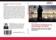 Buchcover von Trasplante de Órganos en Ginecología. Revisión