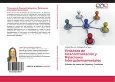 Buchcover von Procesos de Descentralización y Relaciones Intergubernamentales