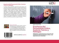 Capa do livro de Enseñanza Del Pensamiento Crítico, Sustento Teórico y Hallazgos