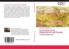 Portada del libro de Evaluación de la Degradación del Paisaje