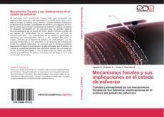 Bookcover of Mecanismos focales y sus implicaciones en el estado de esfuerzo