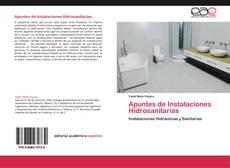 Capa do livro de Apuntes de Instalaciones Hidrosanitarias