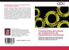 Fundamentos del cálculo de componentes de transmisiones mecánicas kitap kapağı