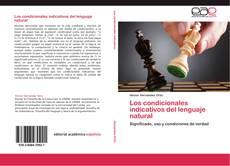 Portada del libro de Los condicionales indicativos del lenguaje natural