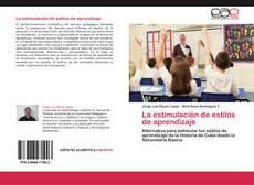 Обложка La estimulación de estilos de aprendizaje