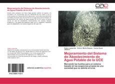 Bookcover of Mejoramiento del Sistema de Abastecimiento de Agua Potable de la UCE