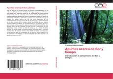 Buchcover von Apuntes acerca de Ser y tiempo