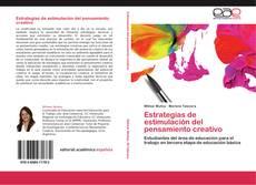 Bookcover of Estrategias de estimulación del pensamiento creativo