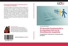 Bookcover of El derecho fundamental a la reproducción en la Constitución española