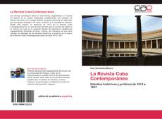 Capa do livro de La Revista Cuba Contemporánea