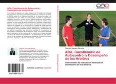 Couverture de ADA, Cuestionario de Autocontrol y Desempeño de los Arbitros