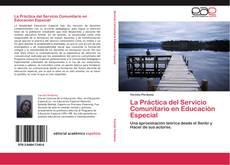 Portada del libro de La Práctica  del Servicio Comunitario en Educación Especial