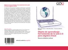 Buchcover von Objeto de aprendizaje: herramienta de la web 2.0 para álgebra lineal