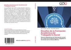 Обложка Desafíos de la Formación Académica del Trabajador/a Social