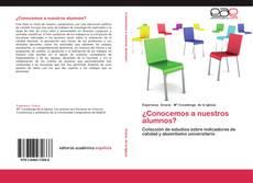 Bookcover of ¿Conocemos a nuestros alumnos?