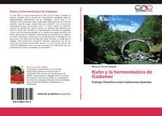 Bookcover of Kuhn y la hermenéutica de Gadamer
