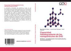 Couverture de Capacidad fotodegradante de las nanopartículas de ZnO
