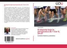 Bookcover of El deporte bajo la perspectiva de 1 Cor 9, 24-27