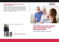Portada del libro de Prestaciones de salud para personas con discapacidad