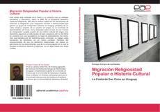 Capa do livro de Migración Religiosidad Popular e Historia Cultural