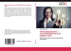Estandarización y accesibilidad de una página web kitap kapağı