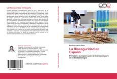 Portada del libro de La Bioseguridad en España