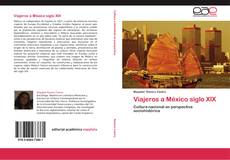 Portada del libro de Viajeros a México siglo XIX
