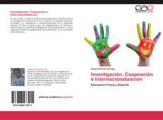 Investigación, Coopeación e Internacionalización kitap kapağı
