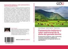Portada del libro de Composición botánica y valor nutricional de la dieta del ganado bovino