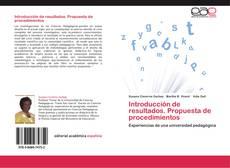 Capa do livro de Introducción de resultados. Propuesta de  procedimientos