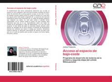 Capa do livro de Acceso al espacio de bajo-coste
