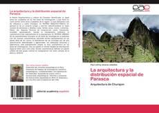 Portada del libro de La arquitectura y la distribución espacial de Parasca