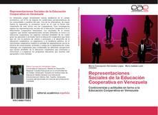 Обложка Representaciones Sociales de la Educación Cooperativa en Venezuela