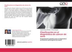 Capa do livro de Clasificación en el diagnóstico de cáncer de seno