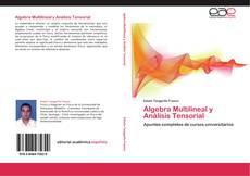 Couverture de Algebra Multilineal y Análisis Tensorial
