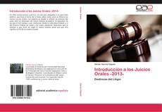 Bookcover of Introducción a los Juicios Orales -2013-