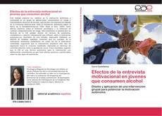 Buchcover von Efectos de la entrevista motivacional en jóvenes que consumen alcohol