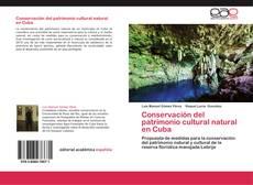 Borítókép a  Conservación del patrimonio cultural natural en Cuba - hoz