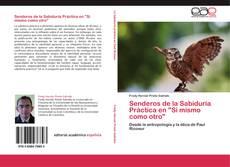 """Capa do livro de Senderos de la Sabiduría Práctica en """"Sí mismo como otro"""""""