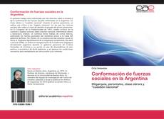 Conformación de fuerzas sociales en la Argentina kitap kapağı