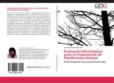 Portada del libro de Evaluación Bioclimática para un Instrumento de Planificación Urbana