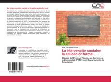 Copertina di La intervención social en la educación formal